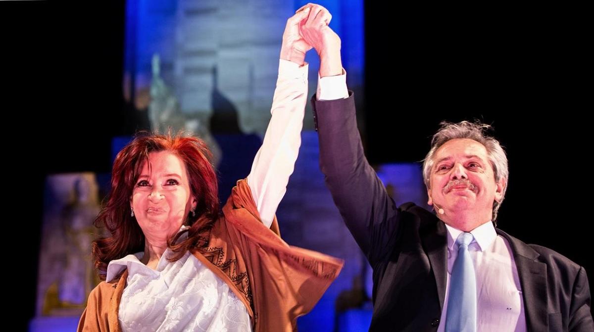 Cristina y Alberto Fuente: Prensa Frente de Todos.