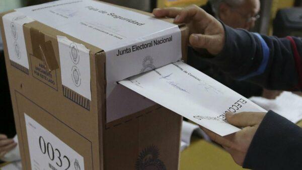 Urna Fuente: Cámara Nacional Electoral.