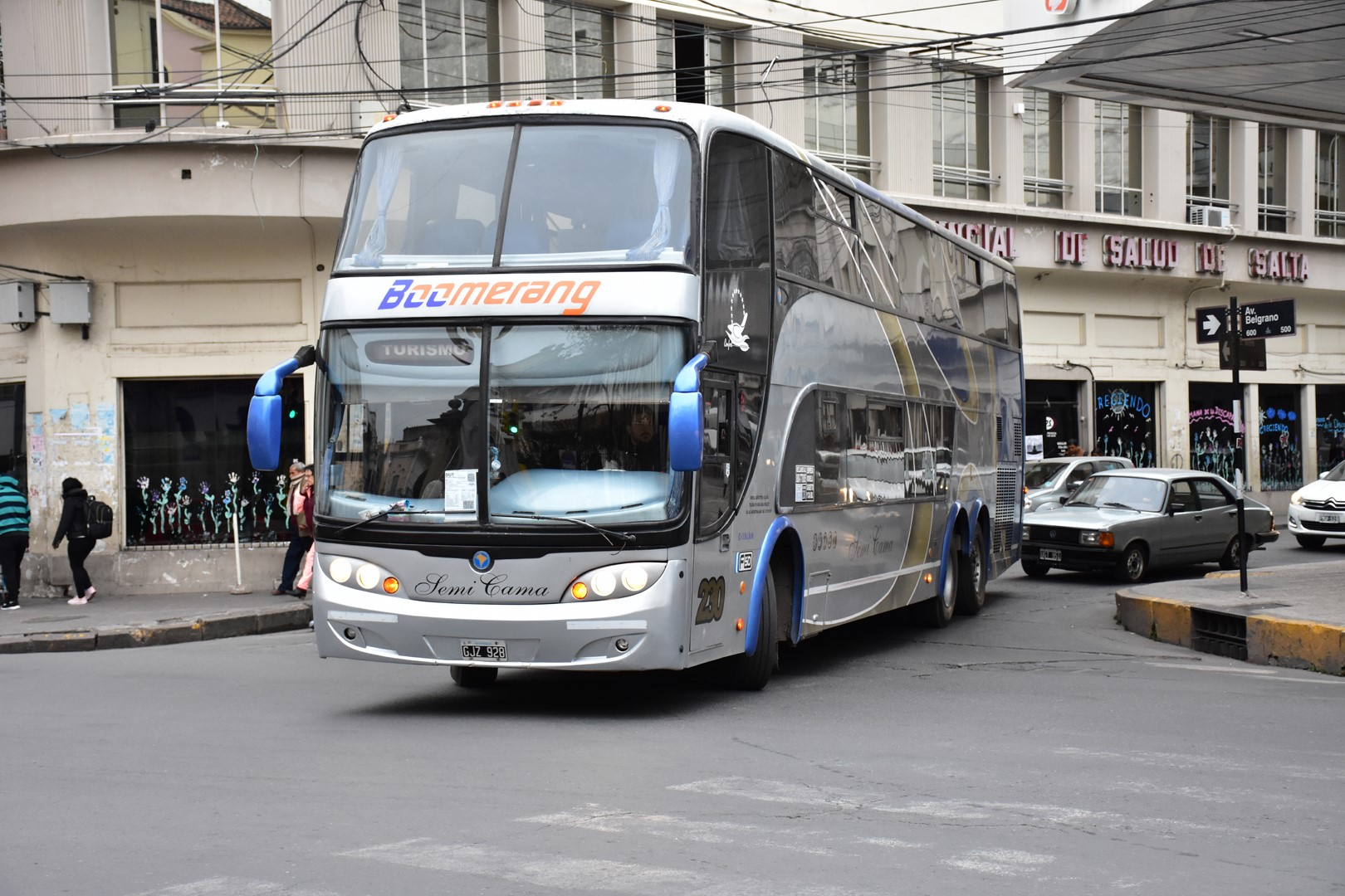 transporte de larga distancia en Salta