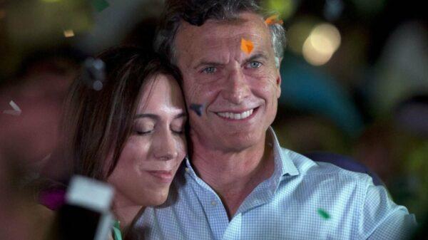 Macri y Vidal Fuente: Twitter Mauricio Macri.