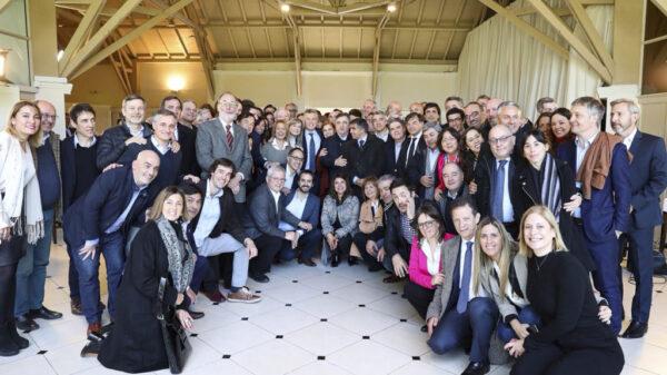 Macri y equipo Fuente: Juntos por el Cambio.