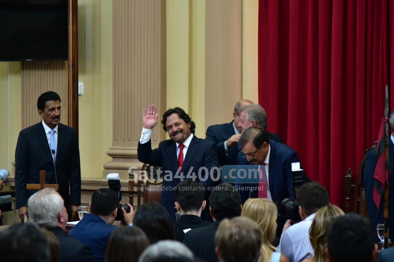 Gustavo Sáenz en la Legislatura