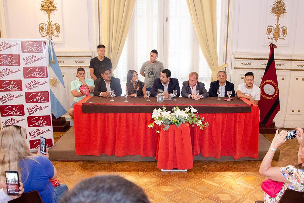 Presentación El Seclanteño - Foto: salta.gov.ar