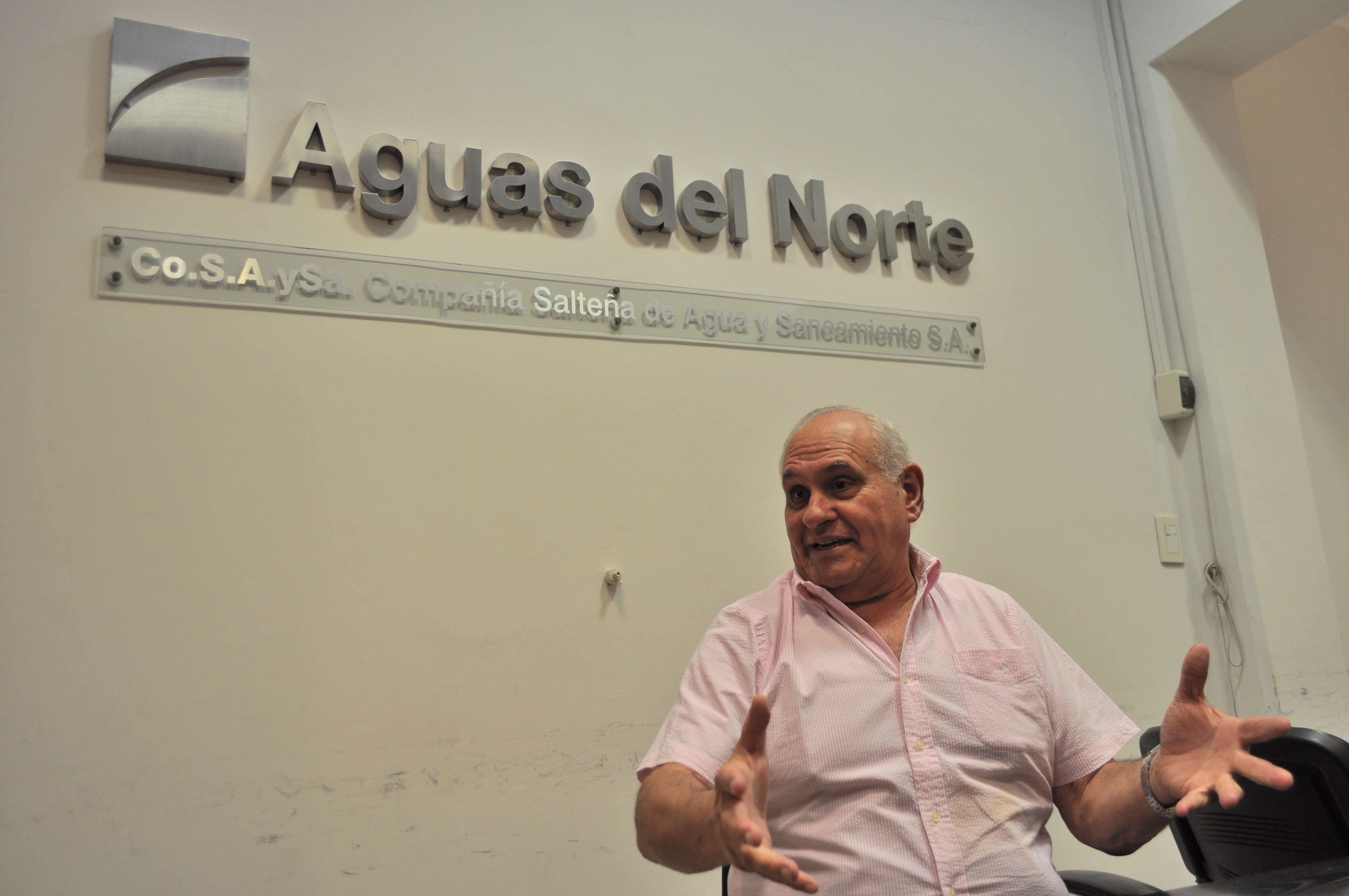 Luis María García Salado - Foto: Prensa Aguas del Norte