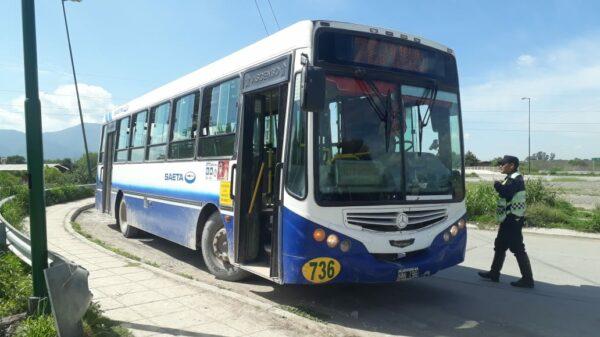 colectivo interurbano en Salta