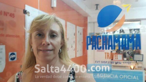 Claudia Sosa, empresa de turismo