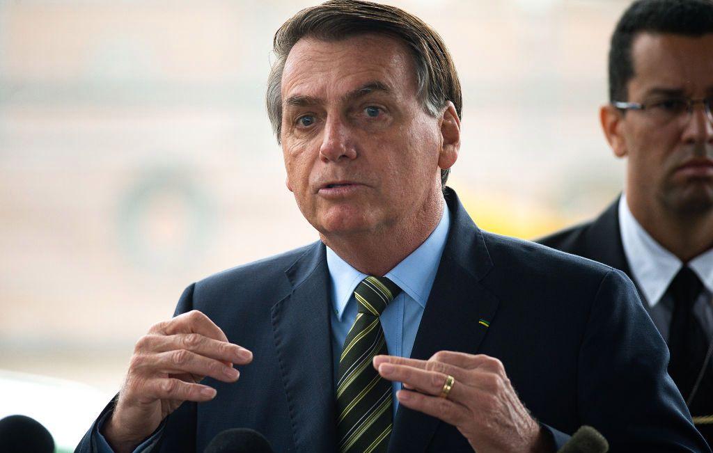 El presidente de Brasil realizó una polémica declaración sobre el coronavirus.