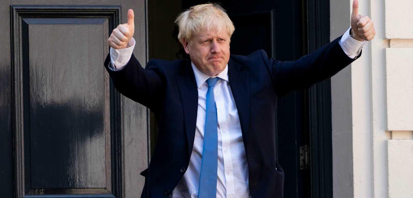 El primer ministro de Reino Unido, Boris Johnson, se contagió coronavirus.