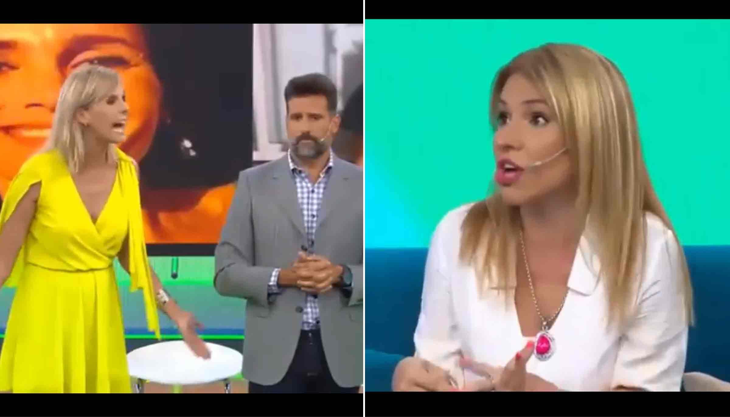 Denis Dumas y Fernanda Iglesias