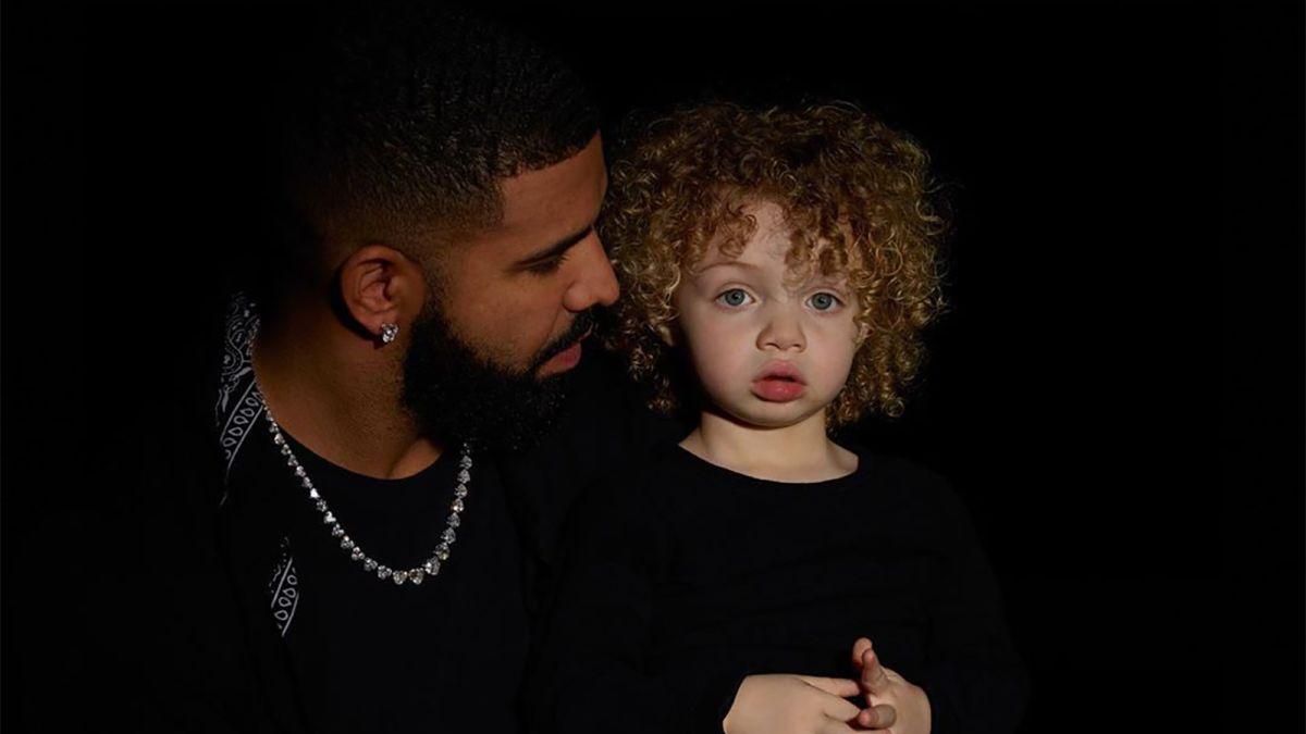 Drake y su hijo Adonis