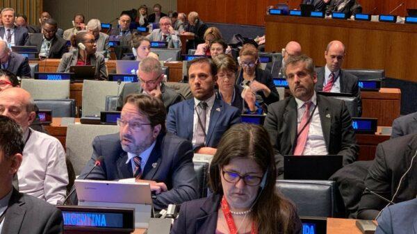 Marco Lavagna no presenta síntomas de coronavirus, pero se aisló para cumplir con el protocolo./Foto: Twitter oficial del INDEC.