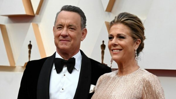 Tom Hanks y Ritan Wilson