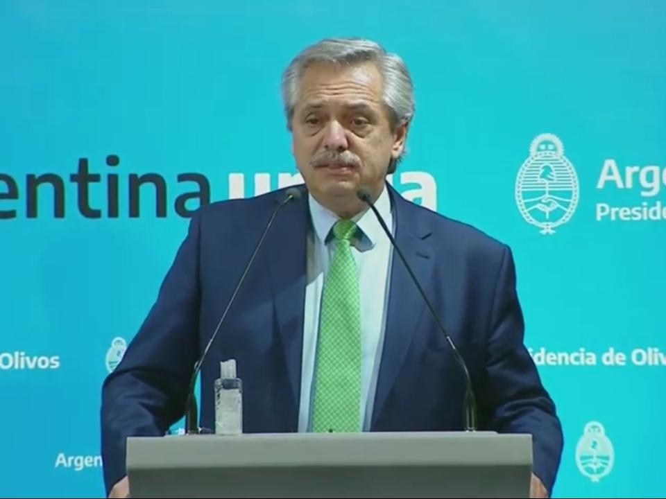 Alberto Fernández anunciará medidas económicas para paliar la crisis del coronavirus.