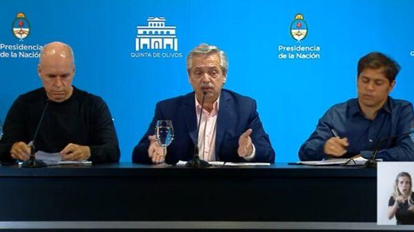 Alberto Fernández - Conferencia de Prensa