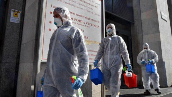 La pandemia de coronavirus deja miles de fallecidos en Europa.