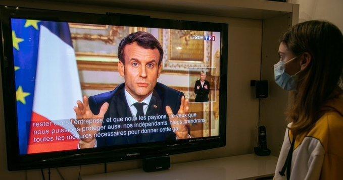 Francia restringe la circulación por el coronavirus.