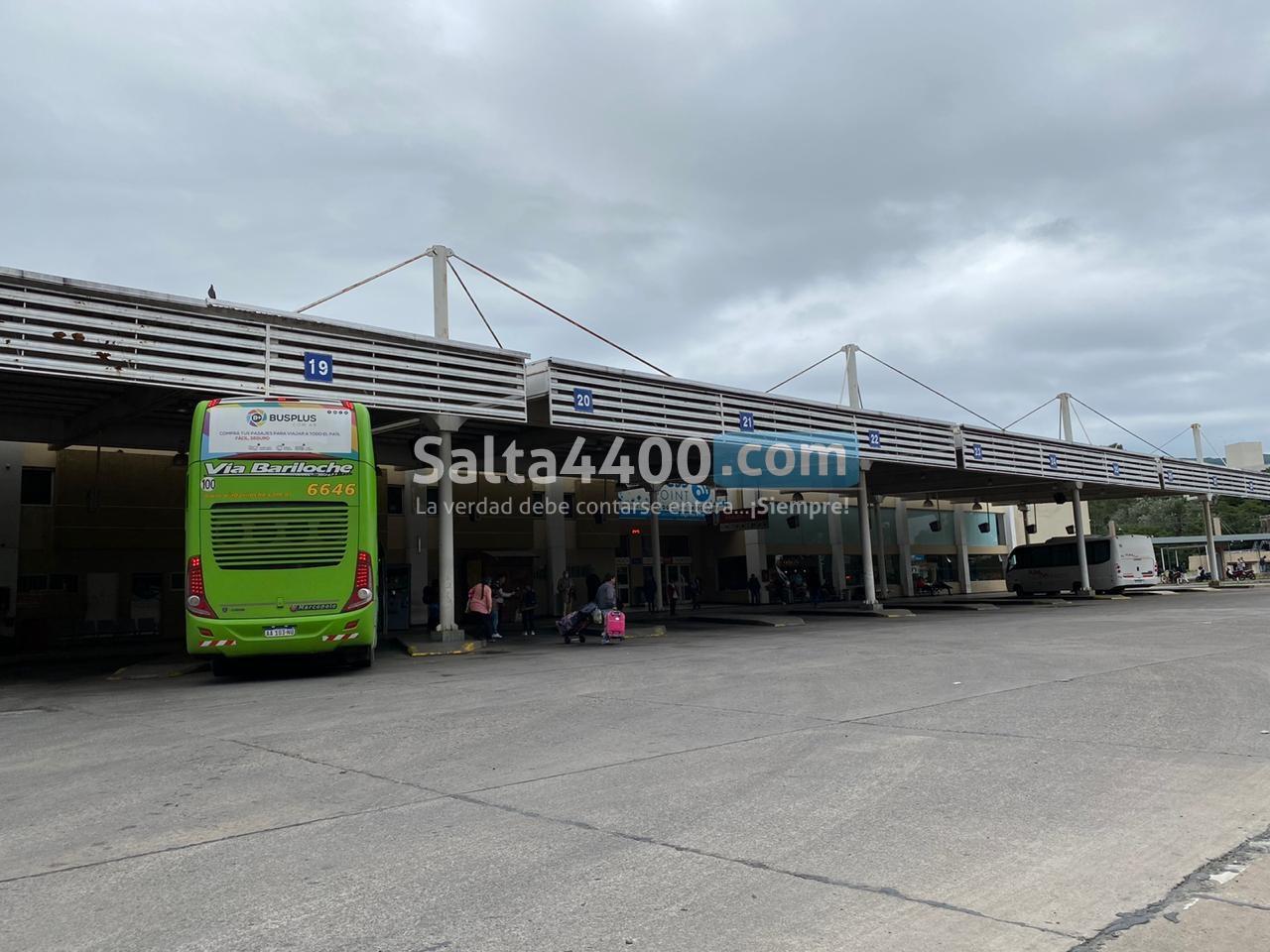 terminal de ómnibus de Salta