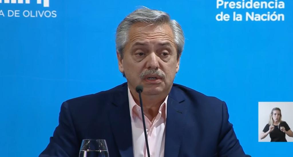 Alberto Fernández mantiene una reunión con la CGT.