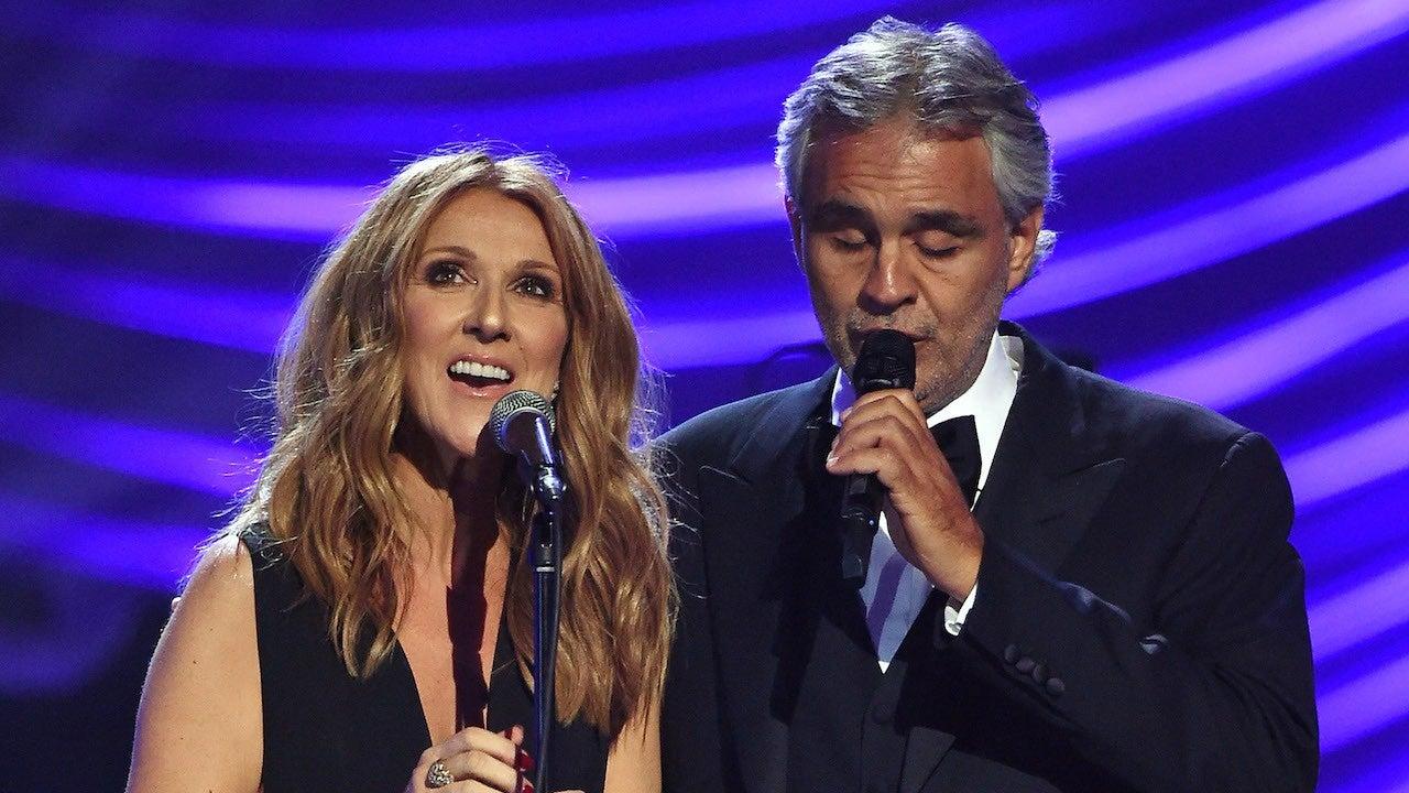 Céline Dion y Andrea Bocelli