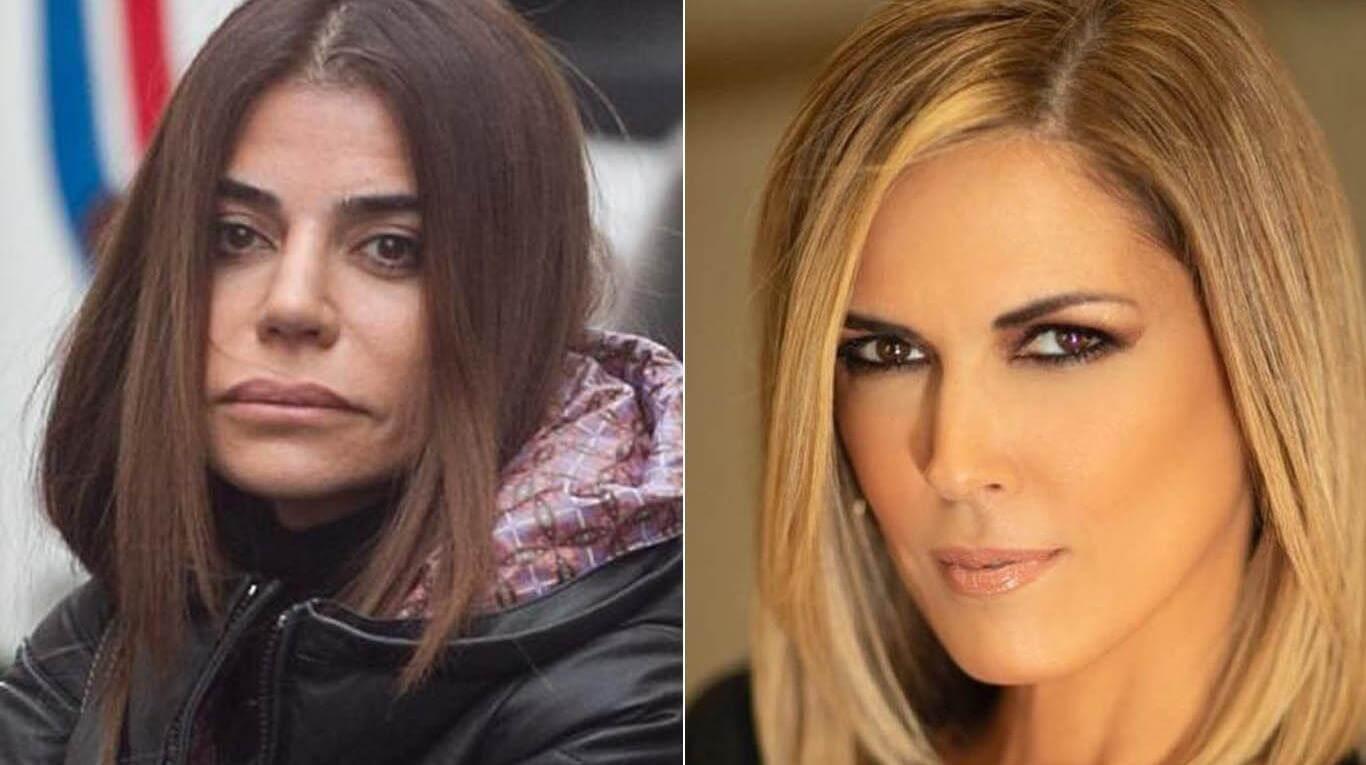 Zulemita Menem y Viviana Canosa