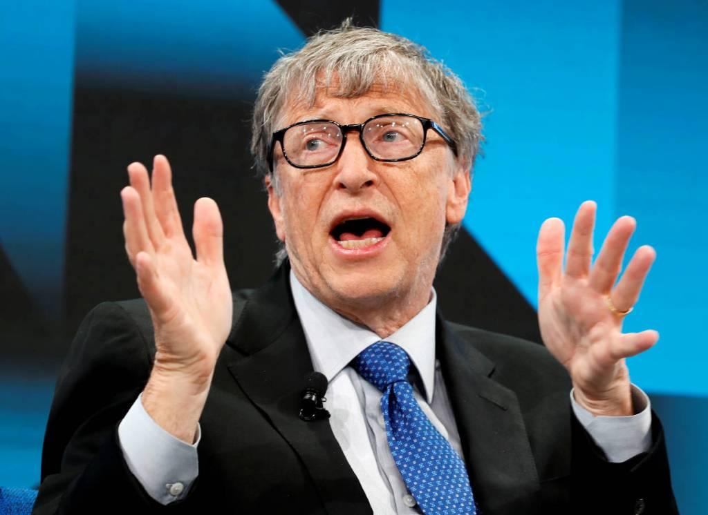 Bill Gates contra Donald Trump