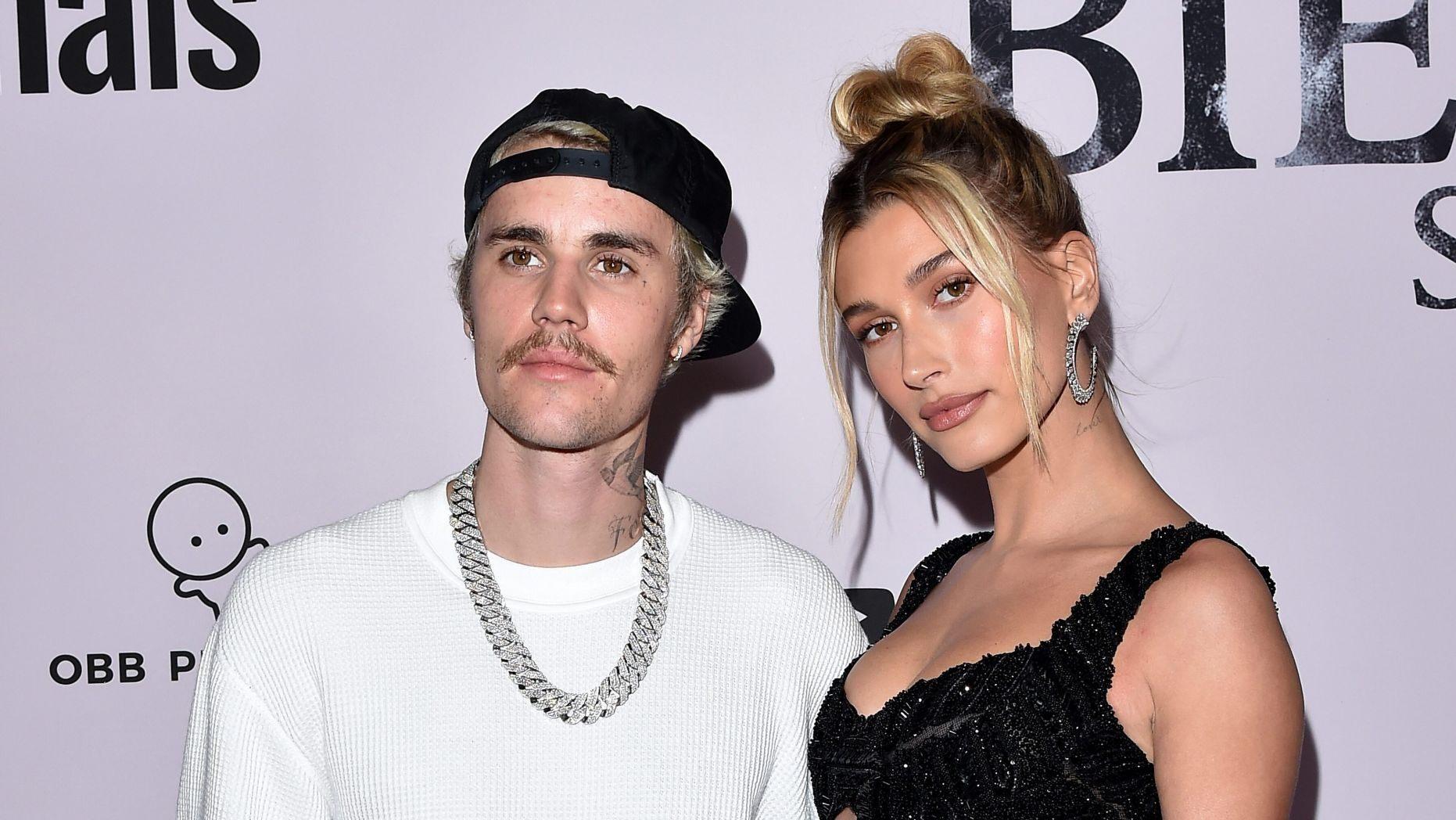 Hailey Bieber y Justin Bieber
