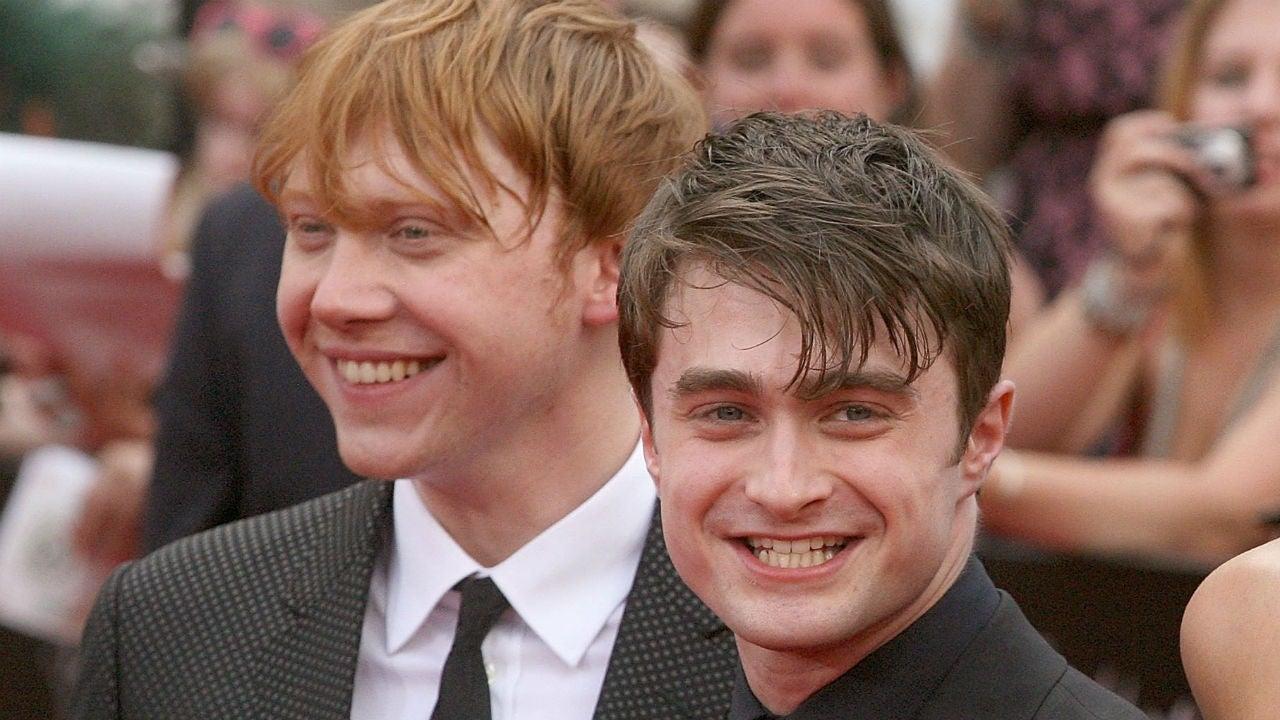 Harry Potter y Rupert Grint