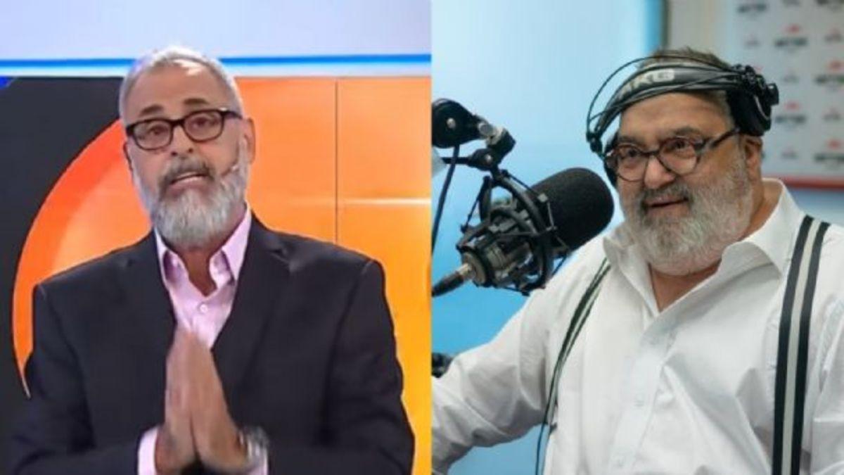 Jorge Rial y Jorge Lanata