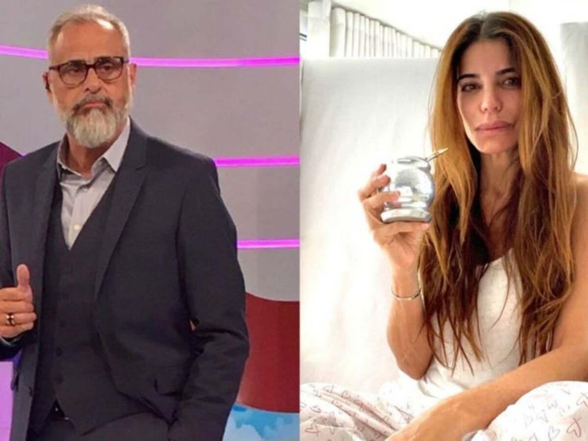 Jorge Rial y Zulemita Menem