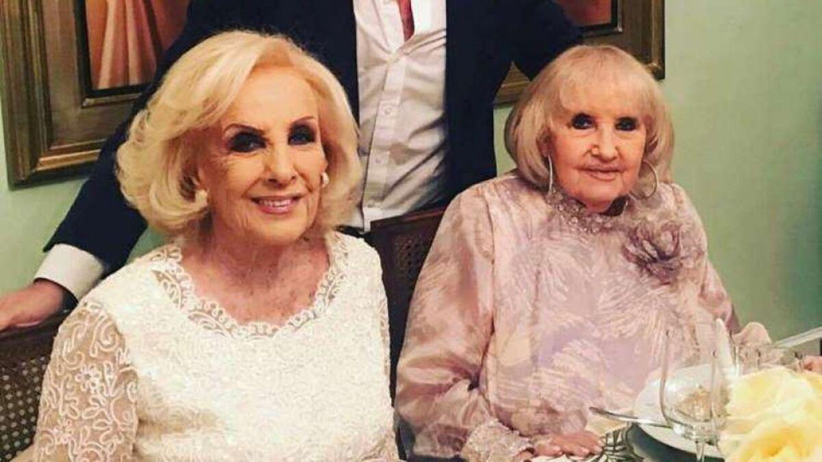 Mirtha Legrand y Goldie