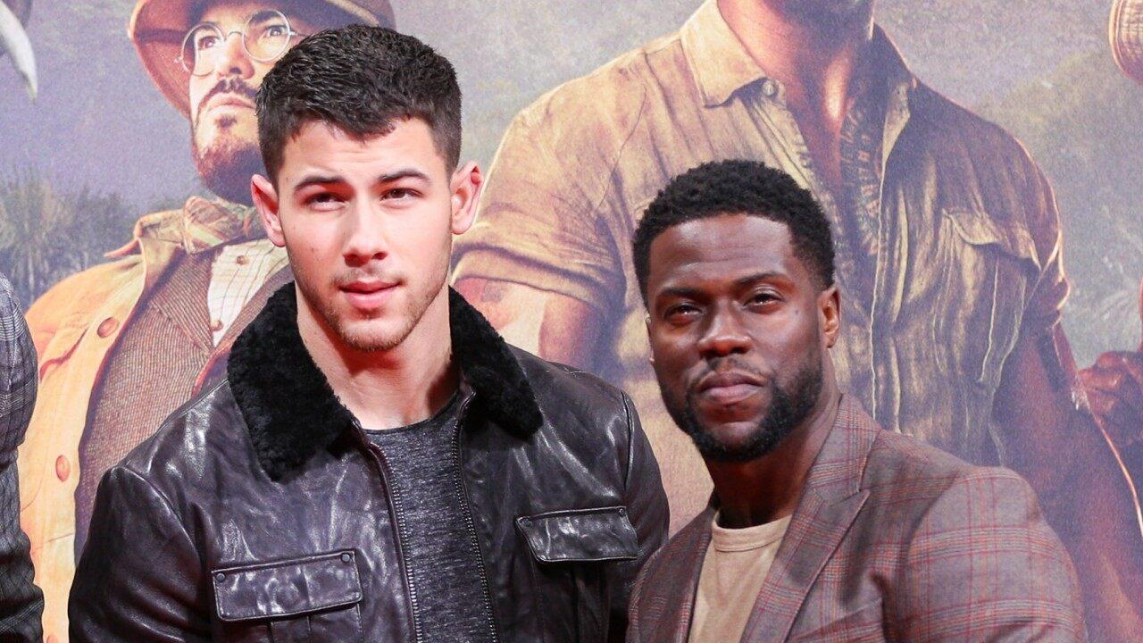 Nick Jonas y Kevin Hart