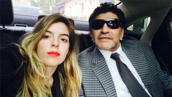 Dalma Maradona y Diego