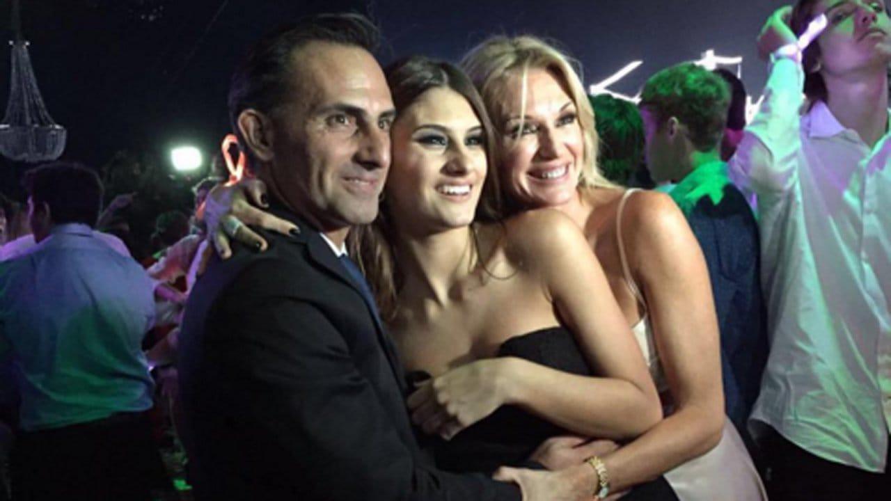 Diego. Lola y Yanina Latorre