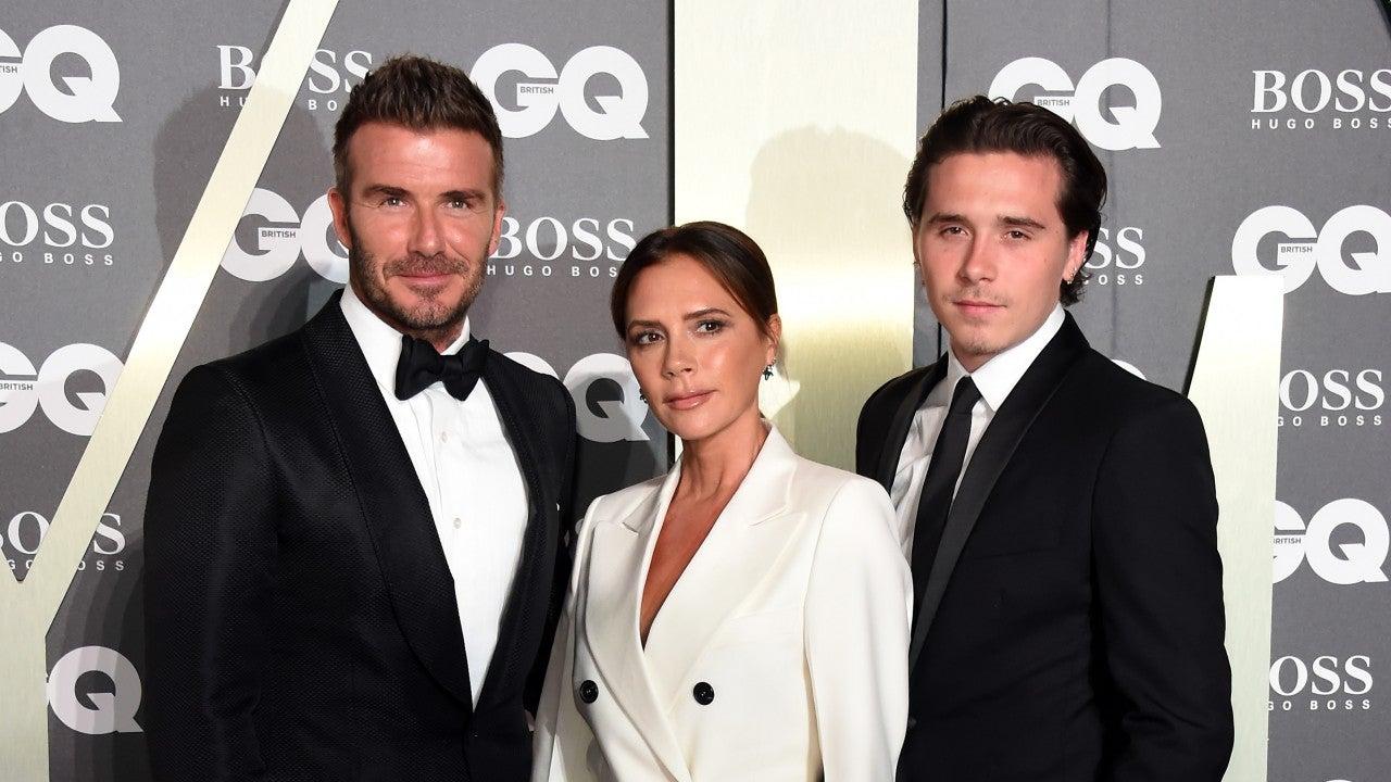 David Beckham, Victoria Beckham y Brooklyn Beckham