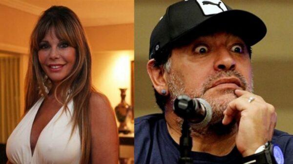 Graciela Alfano Diego Maradona