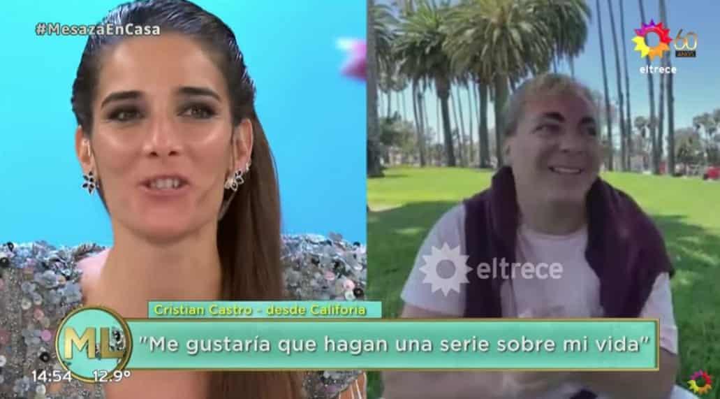 Juana Viale Cristian Castro