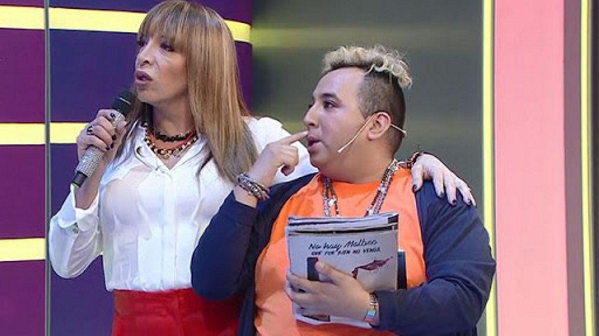 Lizy Tagliani y Floppy Cucu