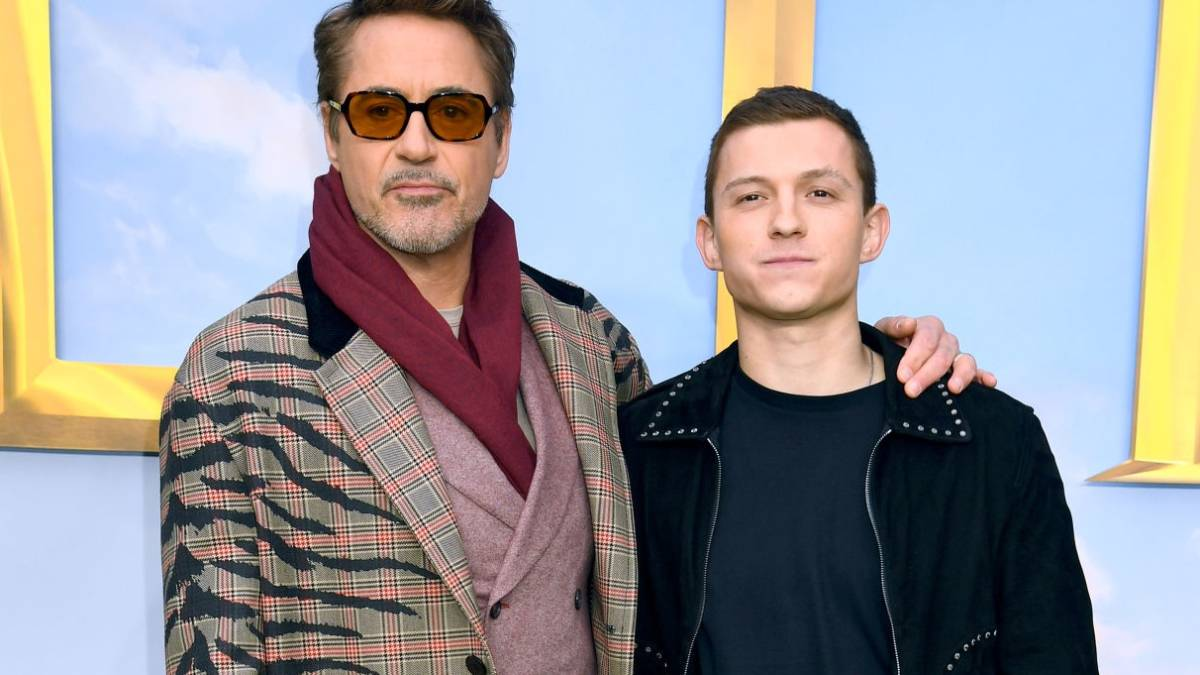 Robert Downey Jr. y Tom Holland