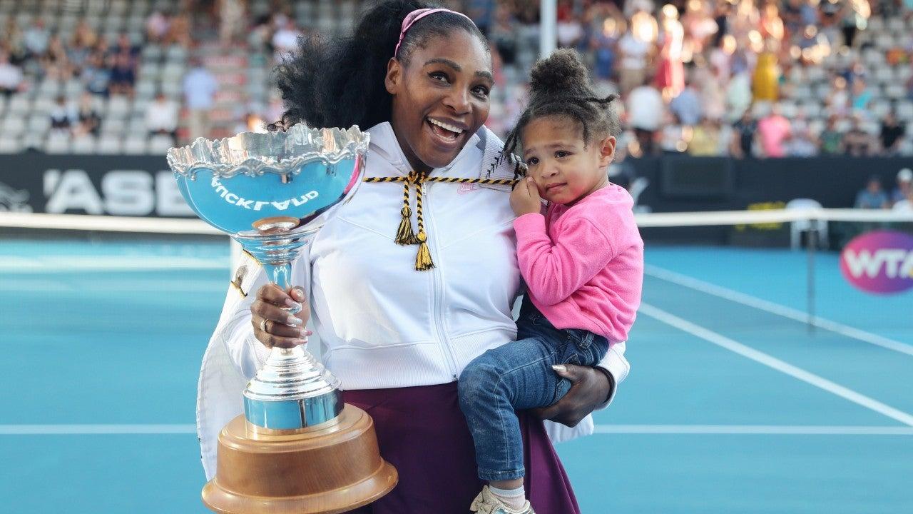 Serena William y su hija