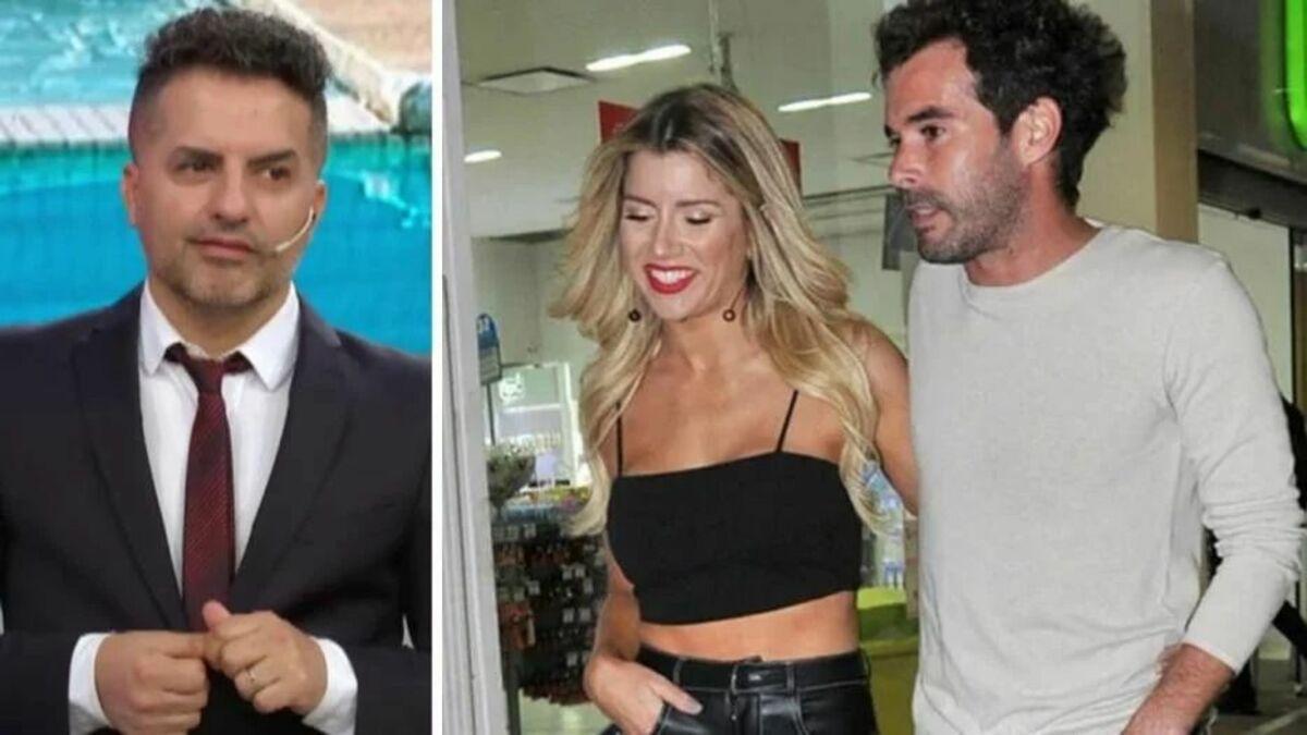 Ángel de Brito, Laurita Fernández y Nicolás Cabré