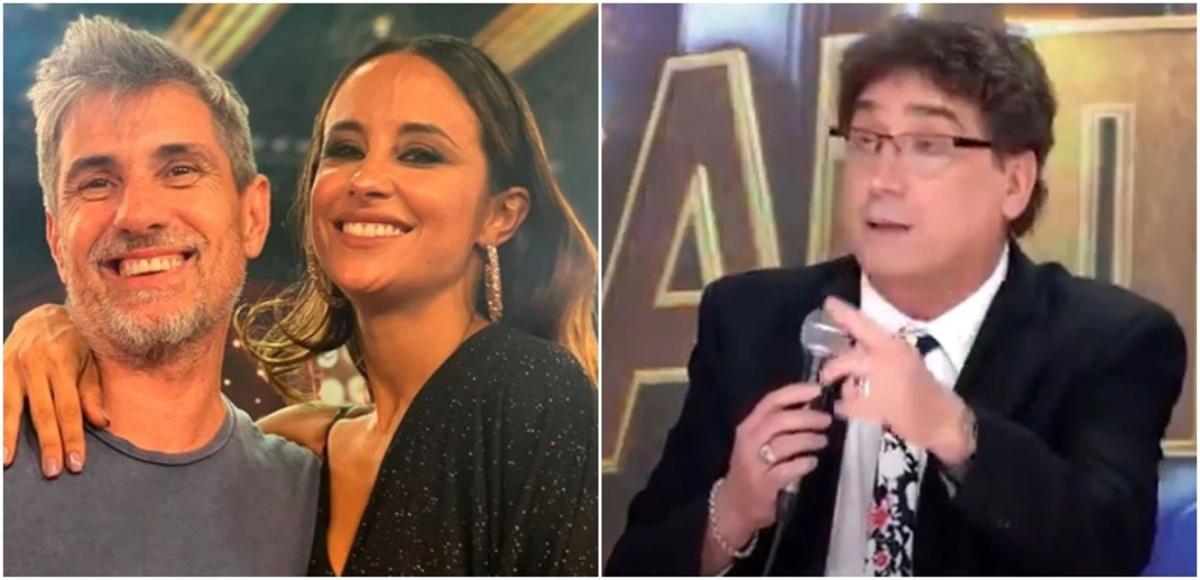 Chato Prada, Lourdes Sánchez y Oscar Mediavilla