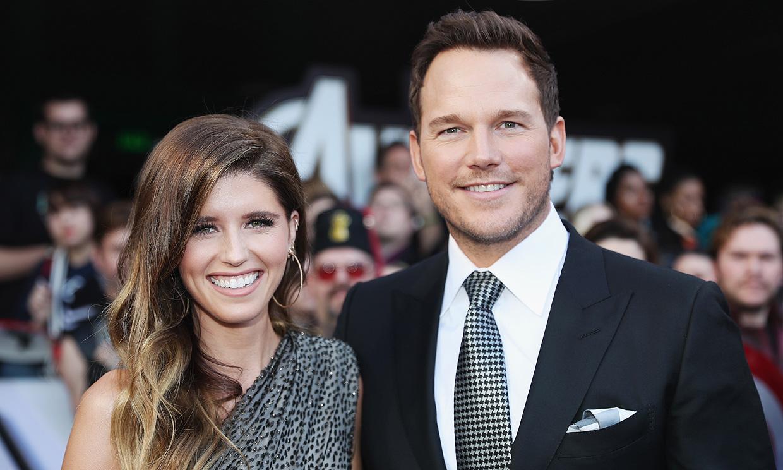 Chris Pratt y su esposa