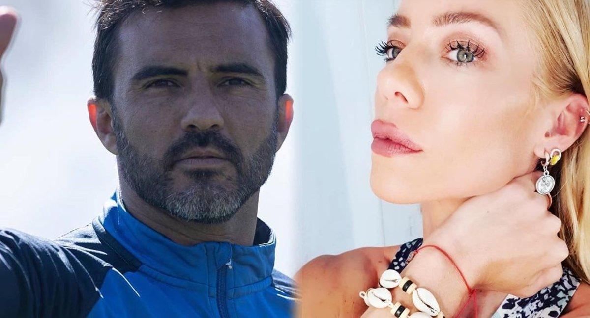 Fabián Cubero y Nicole Neumann