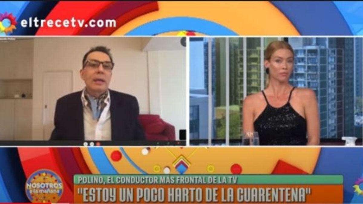 Marcelo Polino y Nicole Neumann