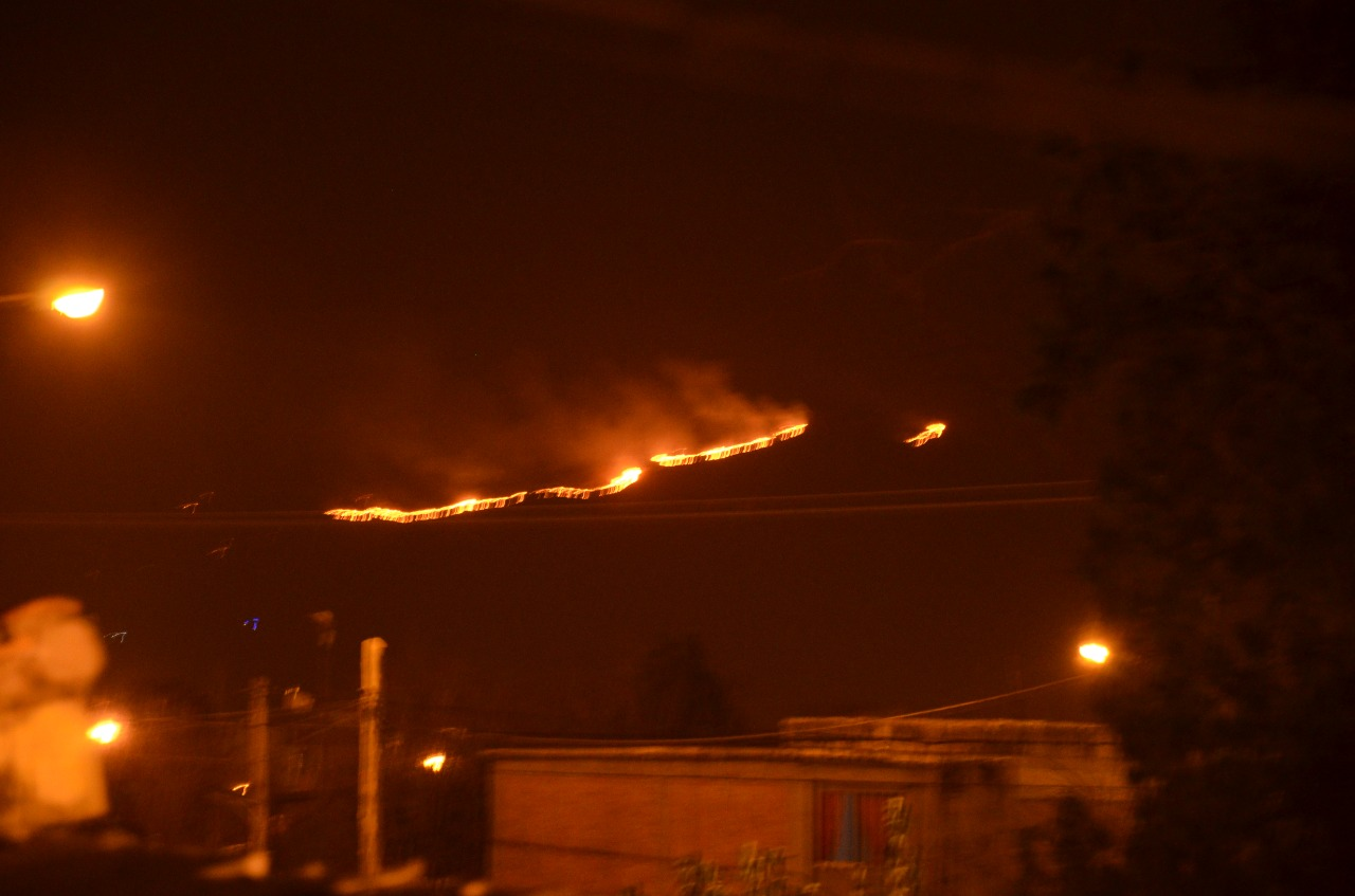 incendios en Salta
