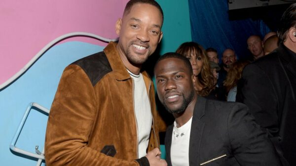 Will Smith y Kevin Hart