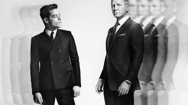 Daniel Craig y Rami Malik