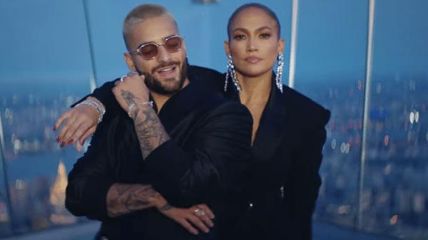 Jennifer Lopez y Maluma