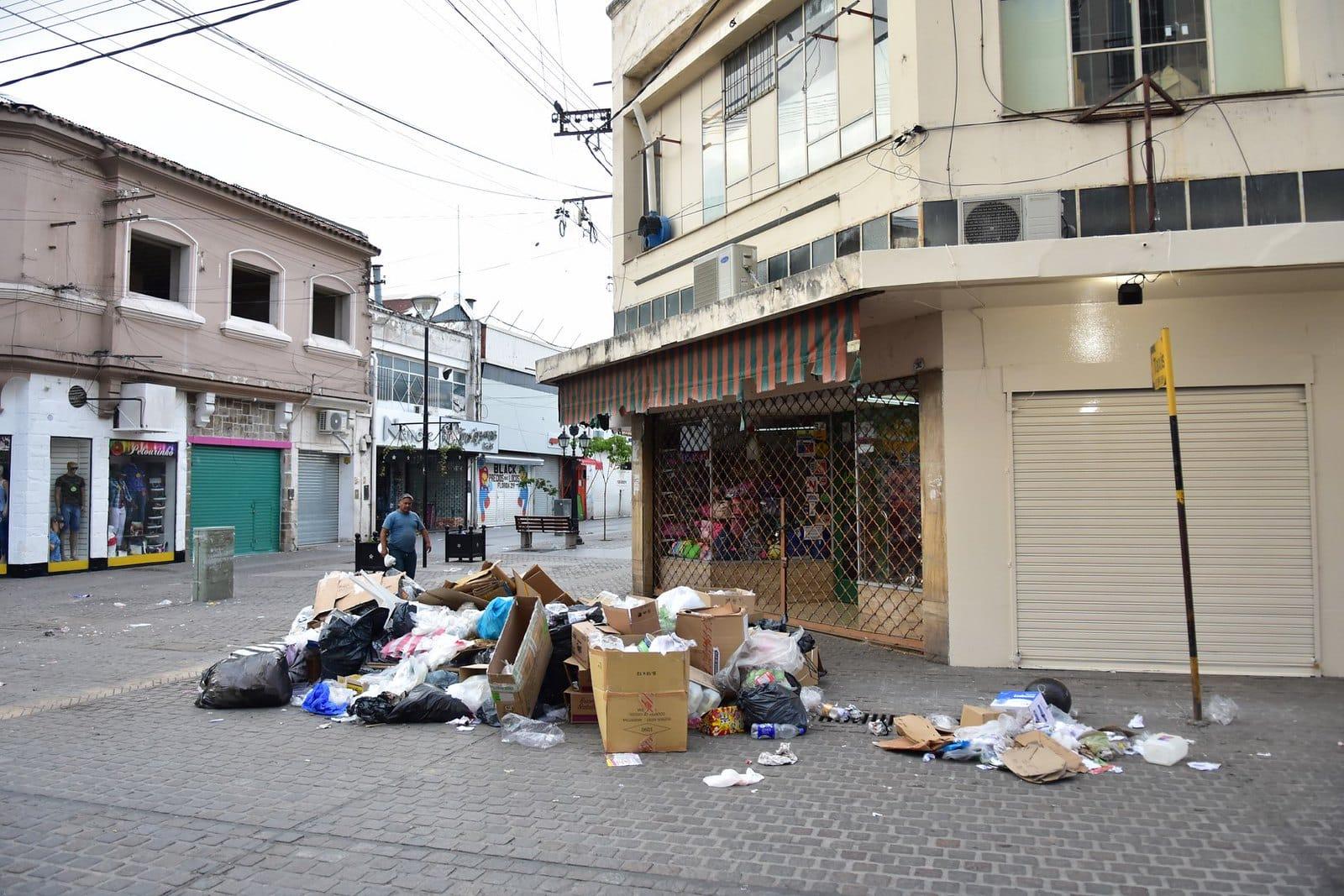 recolección de la basura