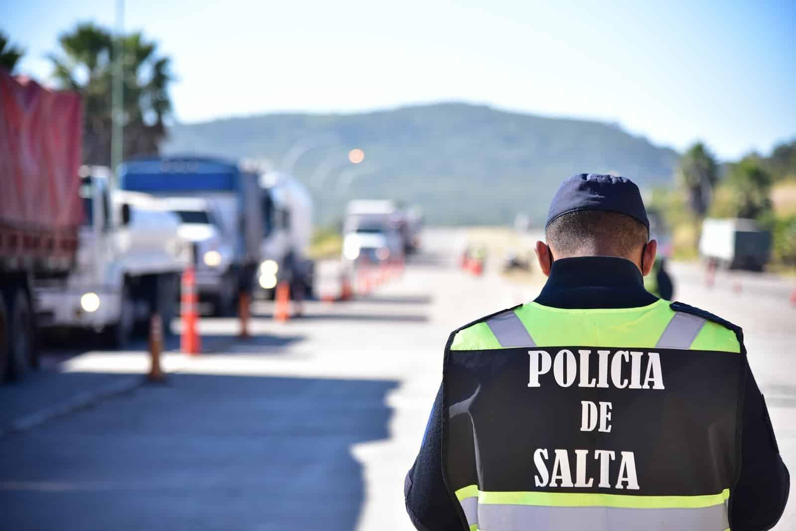 policías de Salta